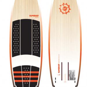 """SLINGSHOT CONVERTER 2020 - 5'4"""" kite surfboard"""
