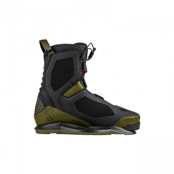 RONIX SUPREME EXP 2020 Olive / Bordeaux Wakeboard Boots with Walk Liner sale