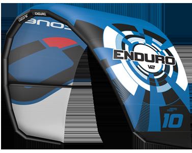 Ozone Enduro V2 2020 blue kite