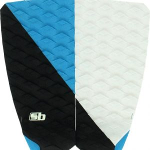 STICKY BUMPS Surf Pad TRACTION DAVE RASTOVICH - BLACK/CYAN