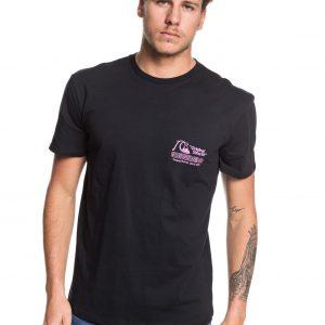 Quicksilver tshirt daily wax tee black