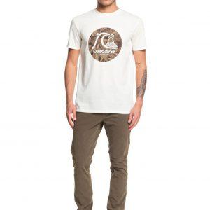 Quicksilver Tshirt custom prints tee back