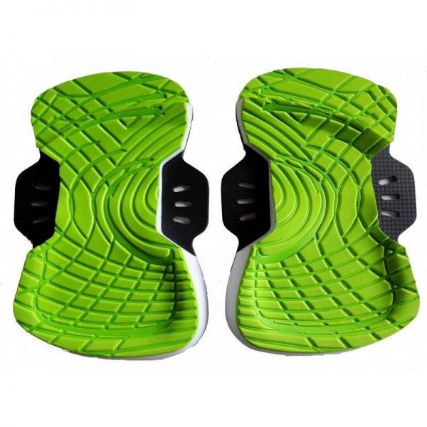 Feather Lite Kiteboard Pads & Straps Set - base - green
