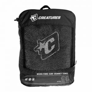 CREATURES BLACK TOWEL BACKPACK