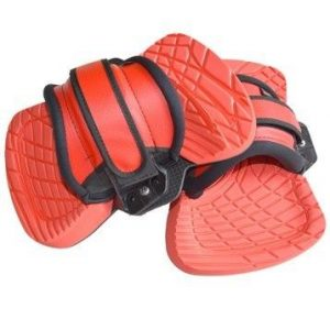 FEATHER LITE KITE PADS & STRAPS SET 2020 red