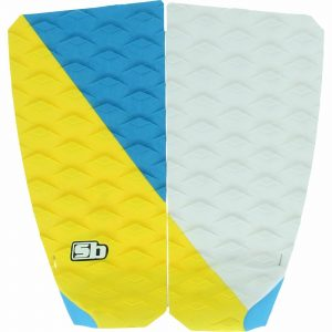STICKY BUMPS TRACTION Surf Pad DAVE RASTOVICH - YELLOW/CYAN